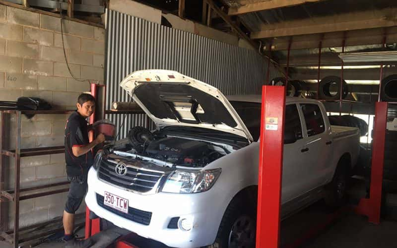 Logbook Servicing Cairns
